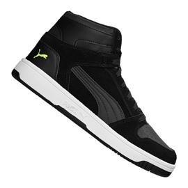 Fekete Puma Rebound LayUp Sd MW 370219-01 cipő