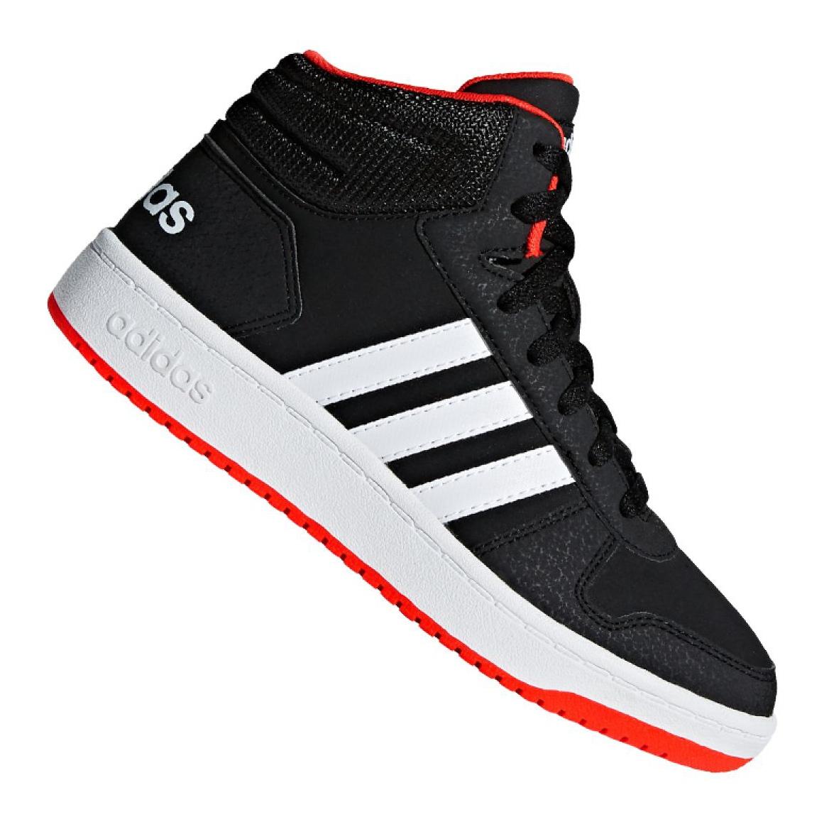 Fiú ADIDAS HOOPS MID 2.0 sneaker fekete színben | adidas