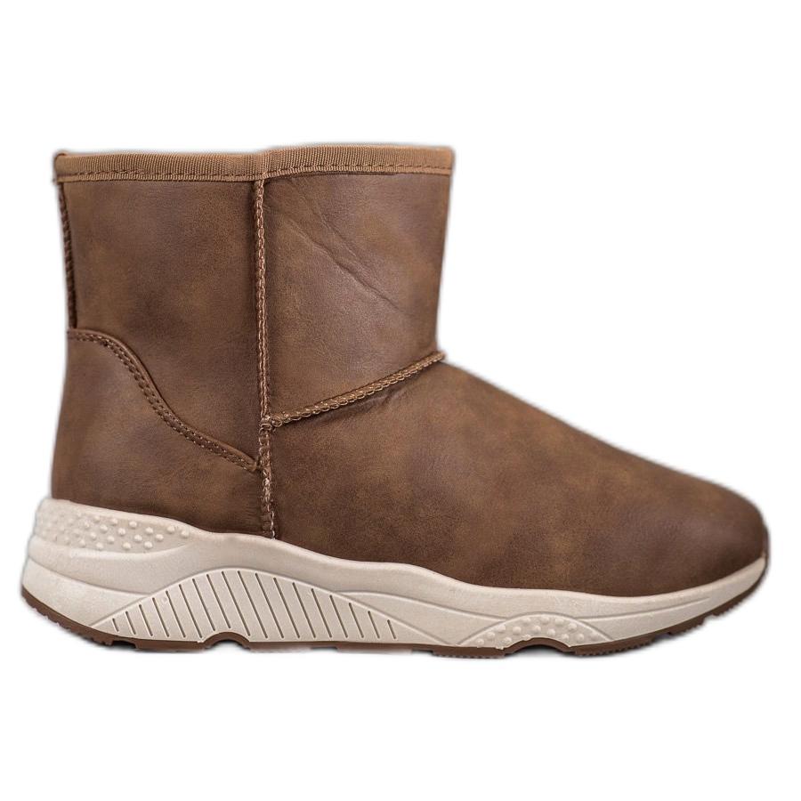SHELOVET Kényelmes cipők barna