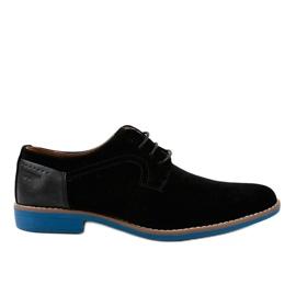 Fekete elegáns cipő H-32