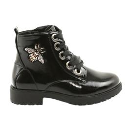 Sergio Leone 530 lakkcipő fekete