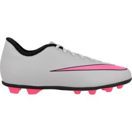 Nike Mercurial Vortex Ii FG-R Jr 651642-060 futballcipő fehér szürke