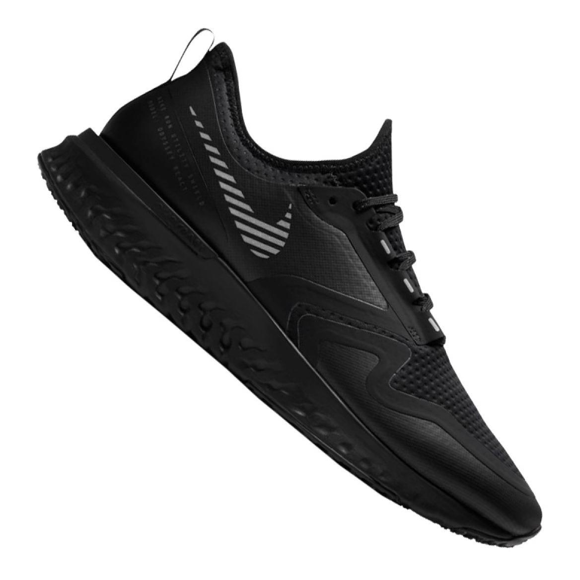 Nike Odyssey React 2 Shield M BQ1671 001 futócipő fekete