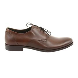 Bőrcipő Pilpol 1609 barna
