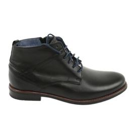 Nikopol 702 cipzáras cipő fekete