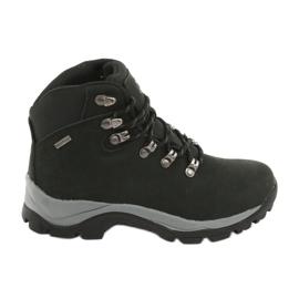 Fekete Atletico 57089 Trekking cipő