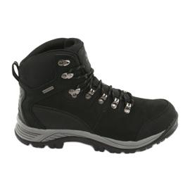 Fekete Atletico 66176 túrázócipő