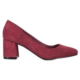Vinceza Burgundia szivattyúk piros