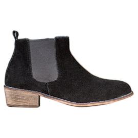 Goodin Bőr Jodhpur csizma fekete