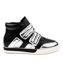 Fekete szigetelt cipők GF-ZM26