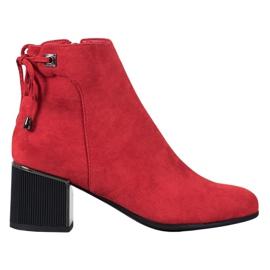 Goodin Piros velúr cipő
