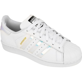 Adidas Originals Superstar Jr AQ6278 cipő fehér