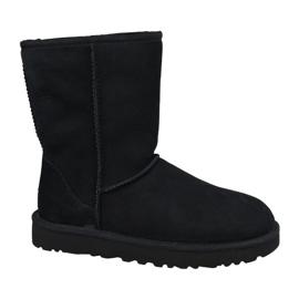 Ugg klasszikus rövid II cipő W 1016223-BLK fekete