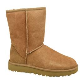 Ugg klasszikus rövid II cipő W 1016223-CHE barna