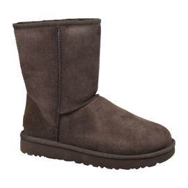 Ugg klasszikus rövid II cipő W 1016223-CHO barna