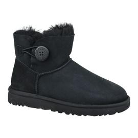 Ugg Mini Bailey Button Ii W 1016422-BLK cipő fekete