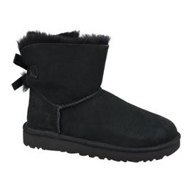 Ugg Mini Bailey Bow Ii W 1016501-BLK cipő fekete
