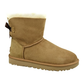 Ugg Mini Bailey Bow Ii W 1016501-CHE cipő barna