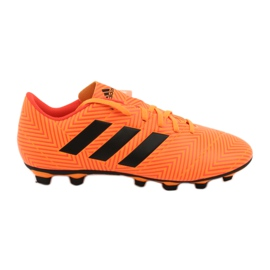 Adidas Nemeziz 18.4 FxG M DA9594 futballcipő narancs