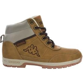 Kappa Bright Mid Jr 260239T 4141 cipő barna