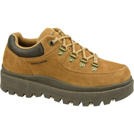 Skechers Shindigs-Stompin 48582-TAN cipő barna