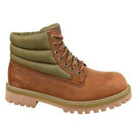 Skechers őrmester Verno M 65838-CDB cipő barna