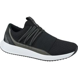 Under Armour Páncél alatt lélegző csipke W cipő 3019973-001 fekete