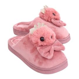Piszkos rózsaszín női papucs DD112 Pink
