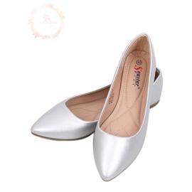 Mandula ezüst balerinos lábak CD52P ezüst szürke