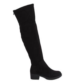 Fekete női csizma fekete 0-207 fekete