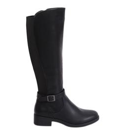 Fekete női csizma G-7602 Fekete