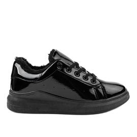 Fekete szigetelt TL140-1 cipők