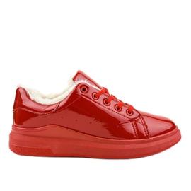 Piros szigetelt cipők TL140-3
