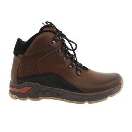 Trekking férfi cipő Riko 903 barna / fekete