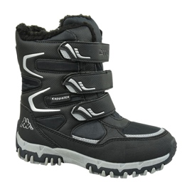 Kappa Great Tex Boot Jr 260558T-1115 cipő fekete