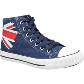 Lee Cooper High Cut 1 LCWL-19-530-041 cipő kék