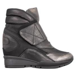 Sergio Leone Tépőzáras cipők szürke