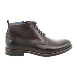 Nikopol 702 cipzáras cipő barna