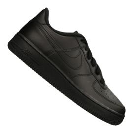 Nike Air Force 1 Gs Jr 314192-009 cipő fekete