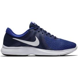 Nike Revolution 4 Eu M AJ3490 414 cipő haditengerészet