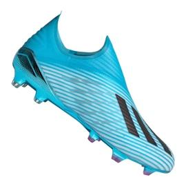 Adidas X 19+ Fg F35323 futballcipő kék kék