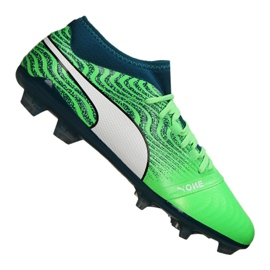 Puma One 18,2 Fg M 104533-04 futballcipő zöld zöld