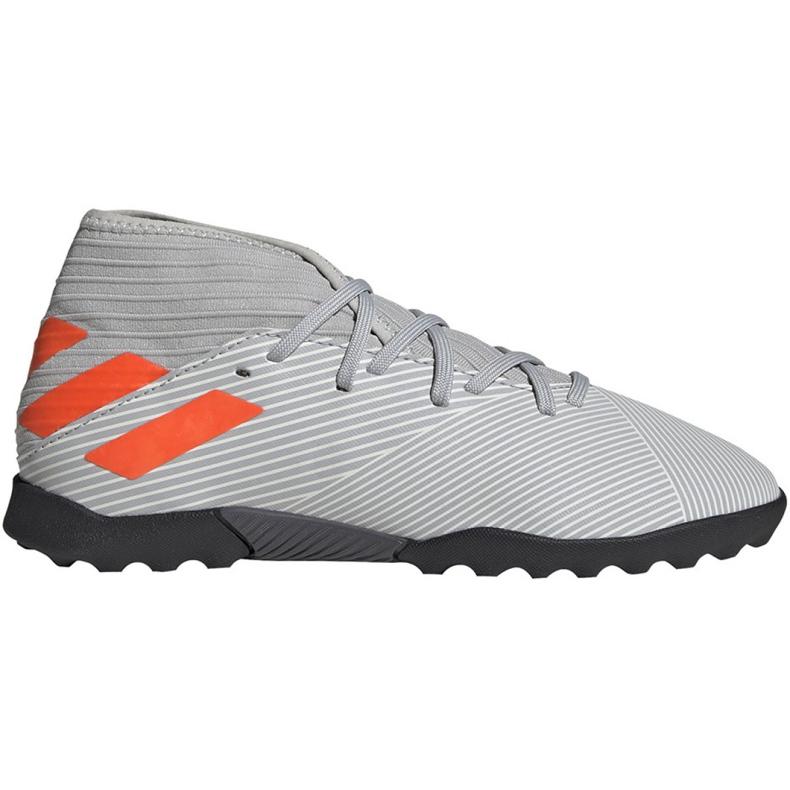 Adidas Nemeziz 19.3 Tf Jr EF8303 futballcipő szürke sokszínű