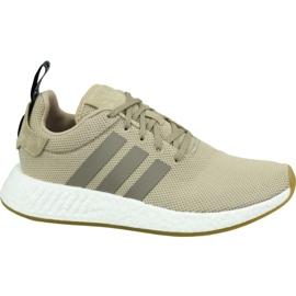 Adidas NMD R2 M BY9916 cipő barna