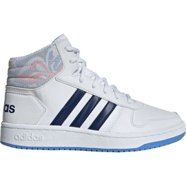 Adidas Hoops Mid 2.0 Jr EE8546 cipő fehér