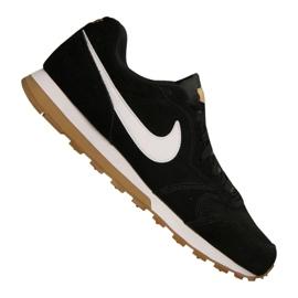 Nike Md Runner 2 Suede M AQ9211-001 cipő fekete