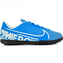 Nike Mercurial Vapor 13 Club Tf Jr AT8177 414 futballcipő kék