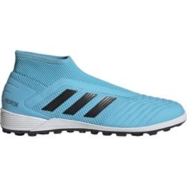 Adidas Predator 19.3 Tf Jr CM8548 futballcipő kék fehér, kék