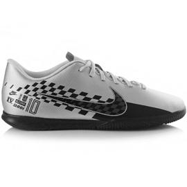 Nike Mercurial Vapor 13 Club Neymar M Ic AT7998 006 futballcipő szürke fekete, szürke / ezüst
