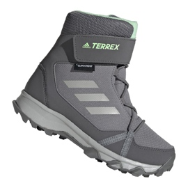 Adidas Terrex Snow Cf Cp Cw Jr G26580 cipő szürke